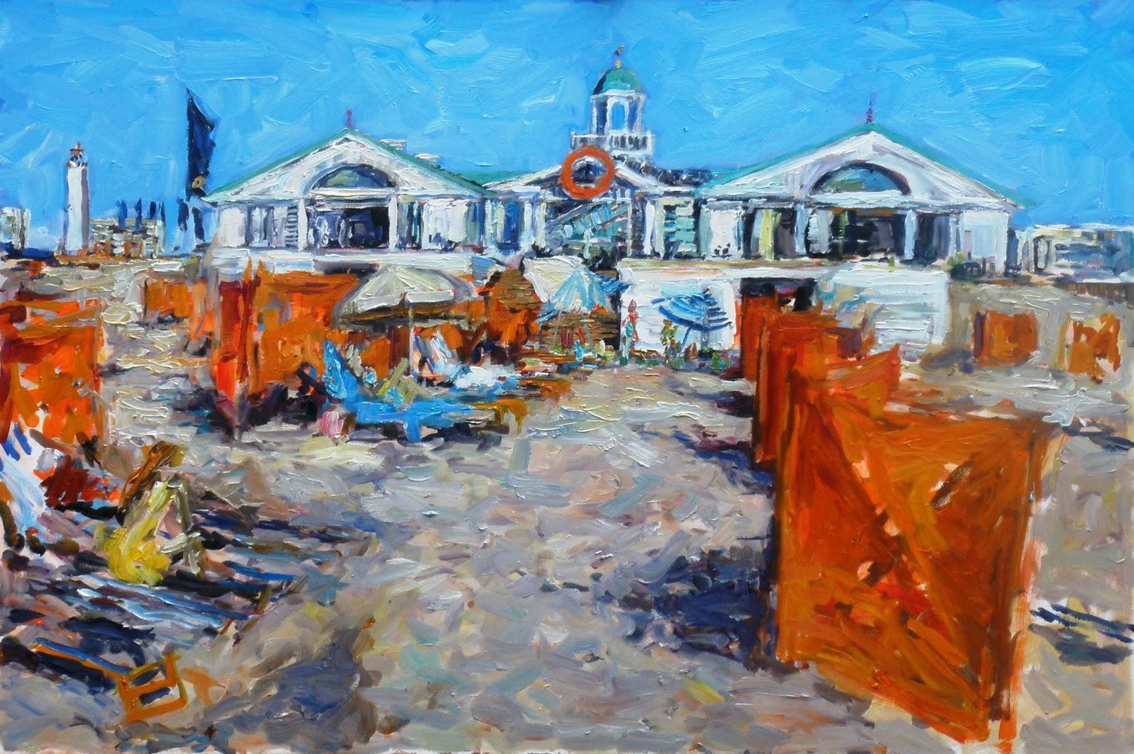 Opdracht 3e Schilderij Hotels Van Oranje, Noordwijk
